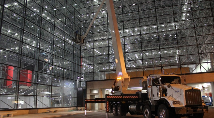 A-175 Working in Javits Center
