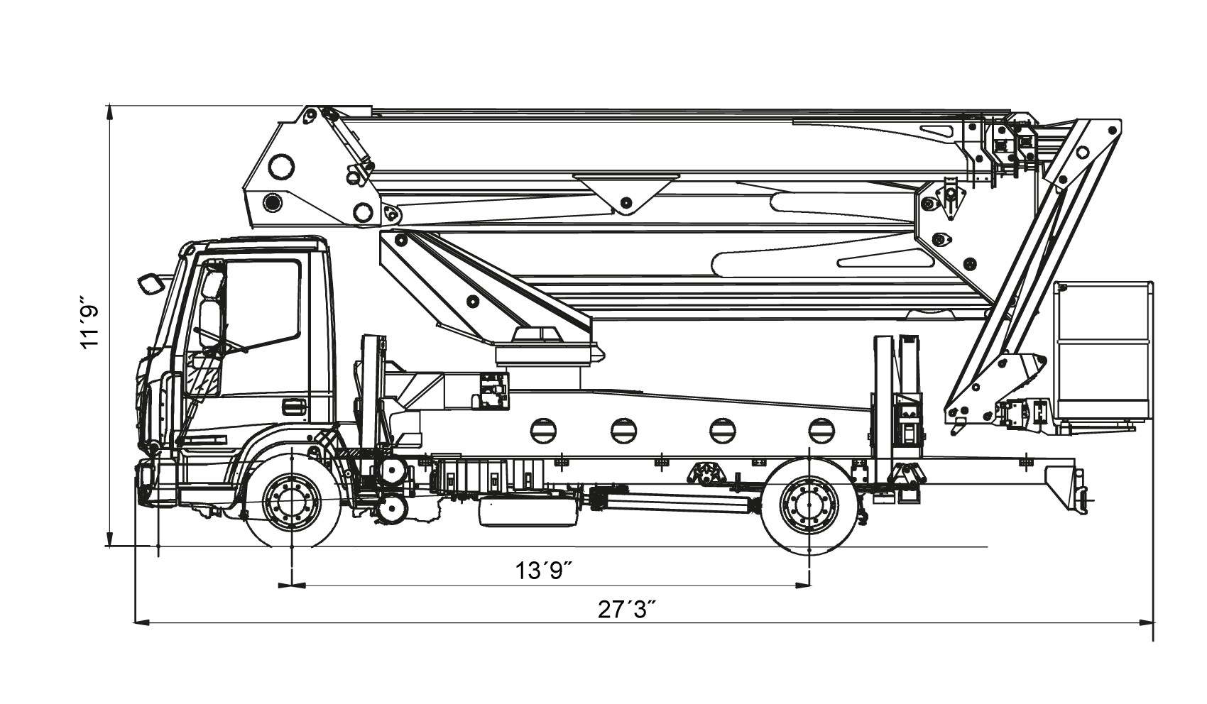 S-120-Truck-Dimensions S - 120'
