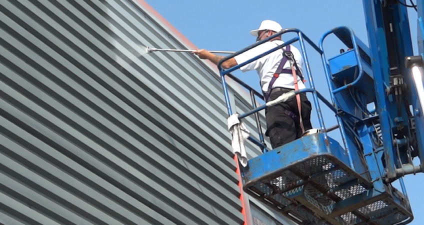 ceilcote-spraying-cladding-11