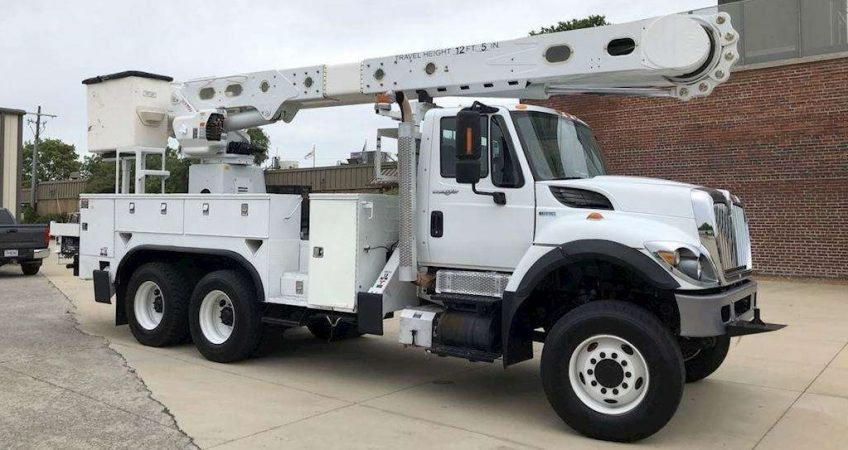Bucket Truck Choice And Rental Offer From Alpha Platforms