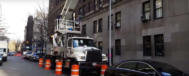 Rental of Truck Mounted Aerial Platforms | Downtown NY
