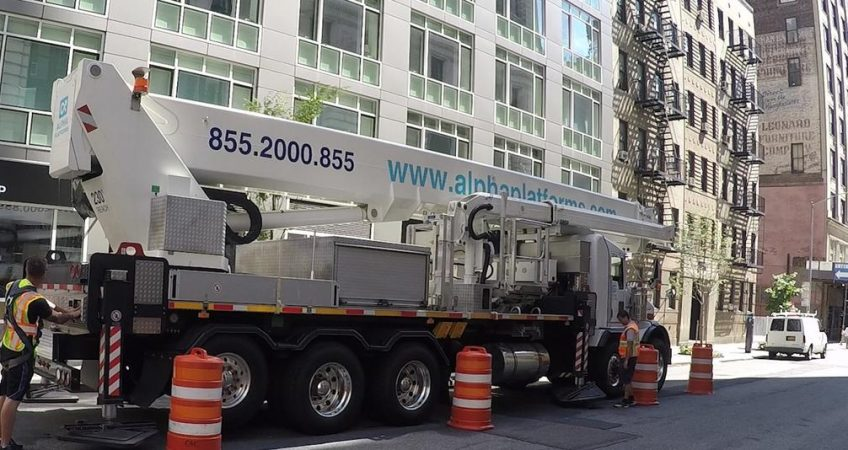 Truck Mounted Aerial Lifts Rental